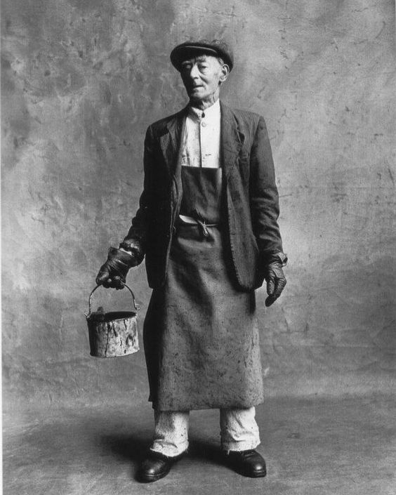 Decorator by Irving Penn, Small Trades.