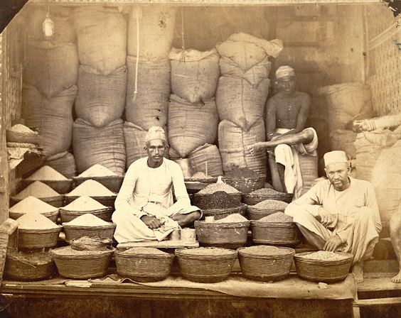 Rice vendors, early 20th c.