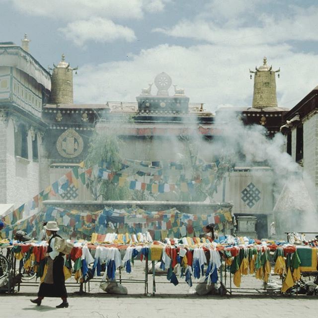 Jokhang Temple, 1980's.
